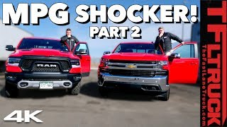 We Test a Chevy and Ram Built for Fuel Economy: The Results Are Disappointing & Surprisingly Good