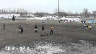 Cedarville Ultimate vs. North Park - DIII Midwestern Invite - Championship