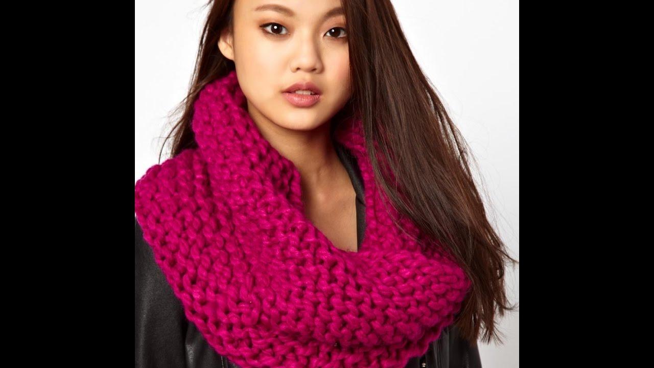 как вязать шарф снуд спицами модели 2019 How To Knit Scarf Lic
