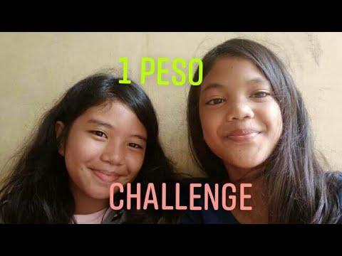1 PESO CHALLENGE | Ayen & Andy