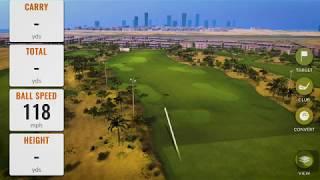 Dubai's first TrackMan Range! Only at Trump International Golf Club, Dubai