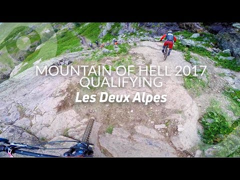 MOUNTAIN OF HELL 2017, Qualification run (10th), Les 2 alpes, France