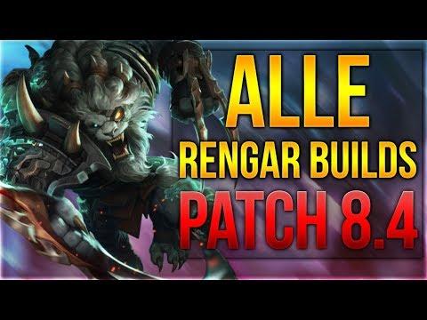 Alle Rengar Builds Patch 8.4 [League of Legends] [Deutsch / German] thumbnail