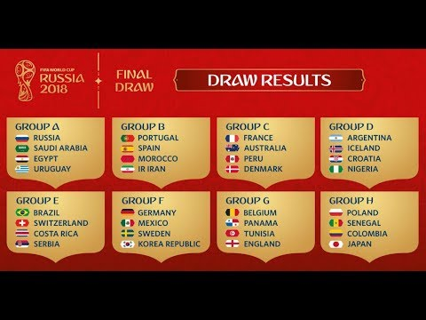 Russia 2018 World Cup Draw    Sucker Narration