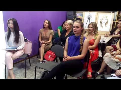 Защита стилистов-визажистов / Вручение  дипломов/ Школа дизайна и моды Астана