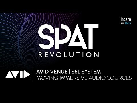 SPAT Revolution - Moving immersive audio sources from  VENUE | S6L Plug-in encoders