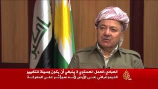 العبادي يدعو الأكراد لتجميد النزاع بمناطق نينوى