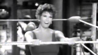 Raquel Welch Mashed Potatoes Holiday Fitness Gym Commercial, 1991