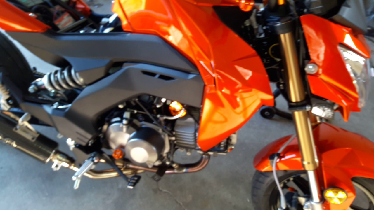 15 10hp Kawasaki z125 pro