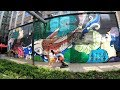⁴ᴷ⁶⁰ Walking NYC (Narrated) : Industry City, Sunset Park, Brooklyn (August 17, 2019)