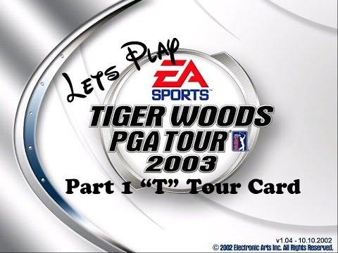 Tiger Woods Pga Tour 2003 Tiger Challenge Part 1