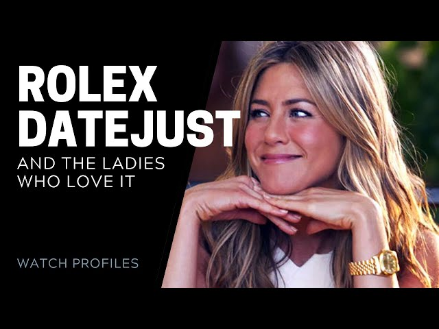 Rolex Datejust and The Ladies Who Love It | SwissWatchExpo