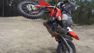 HOW TO RIDE DIRT BIKES: CROSS TRAINING-STYLE