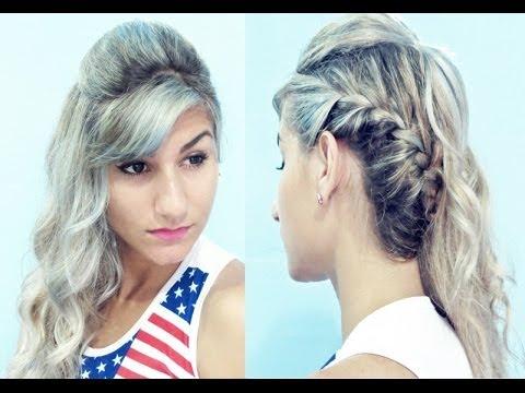 Penteado fácil para FORMATURA - Pamella Rocha - YouTube f70d65862f4