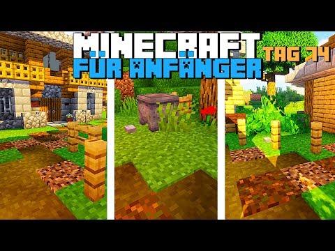 Wie Verschönert Man Ein Dorf In Minecraft 1.14 | Minecraft Für Anfänger Tag 74