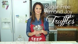 Sugar-free Almond Joy Chocolate Truffles Recipe - Kimtv