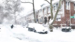 Vlog: Снегопад в Нью Йорке| Snow storm NYC | Katya Fevi(В Нью-Йорк пришла настоящая зима. Метель ворвалась в город, замела машины, перекрыла движение и бурная жизнь..., 2016-01-24T04:57:29.000Z)