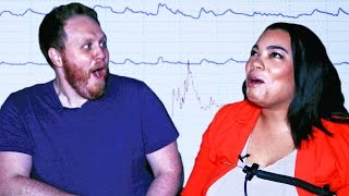 Engaged Couples Take A Lie Detector Test