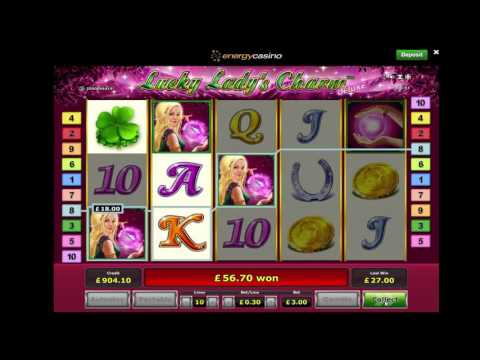 Lucky Ladys Charm Deluxe - £3 Stake - Big Win - Novomatic