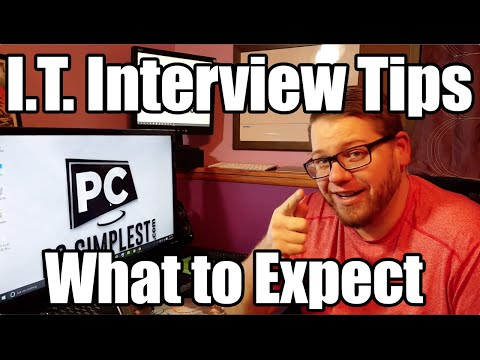Information Technology Interview Tips - The Interview