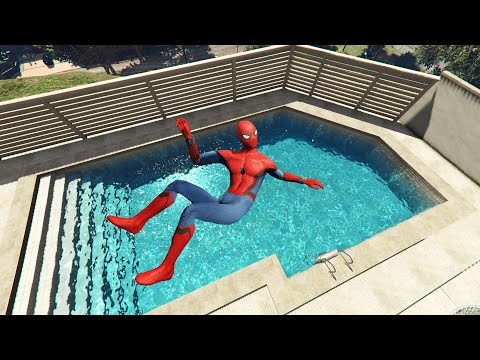 GTA 5 Funny Spiderman ragdolls vol.3
