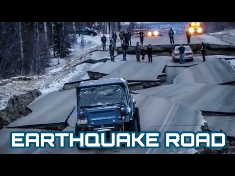 Alaskan Earthquake is No Challenge For This Jeep