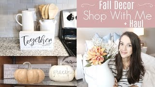 FALL 2018 HOME DECOR HAUL  // SHOP WITH ME  // DECORATE WITH ME