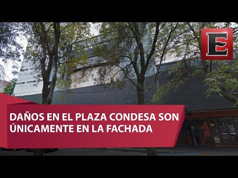 No hay riesgo de desplome en El Plaza Condesa