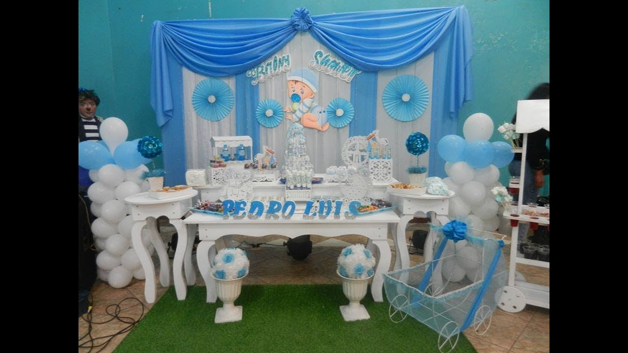 2018 decoracion baby shower candy bar eventos youtube - Ideas decoracion bar ...