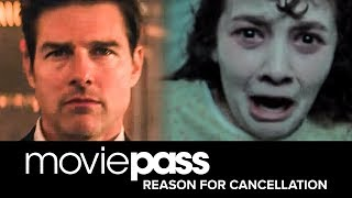 Our Reasons for Cancelling MoviePass