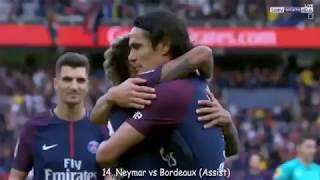Neymar Jr - 24 Goals And Assist in 18 Games for PSG