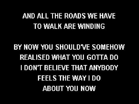 Ryan Adams   Wonderwall Karaoke