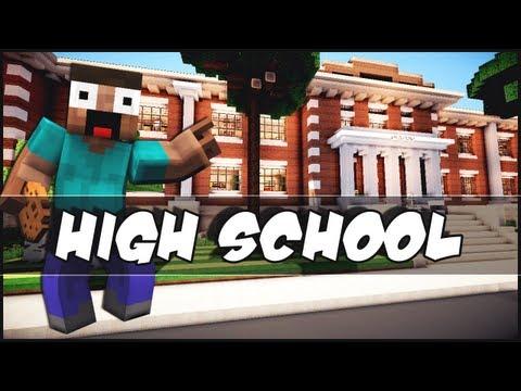 Minecraft - High School