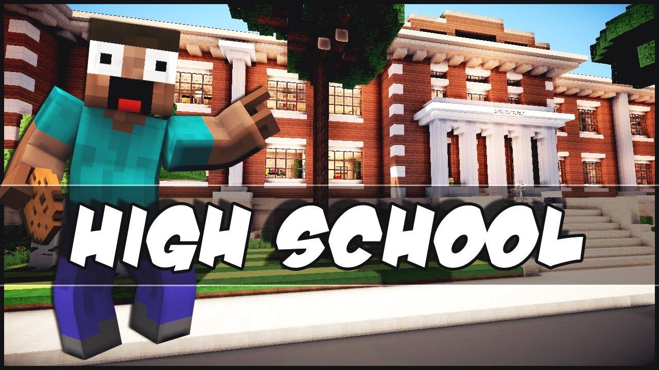 Minecraft - High School - YouTube