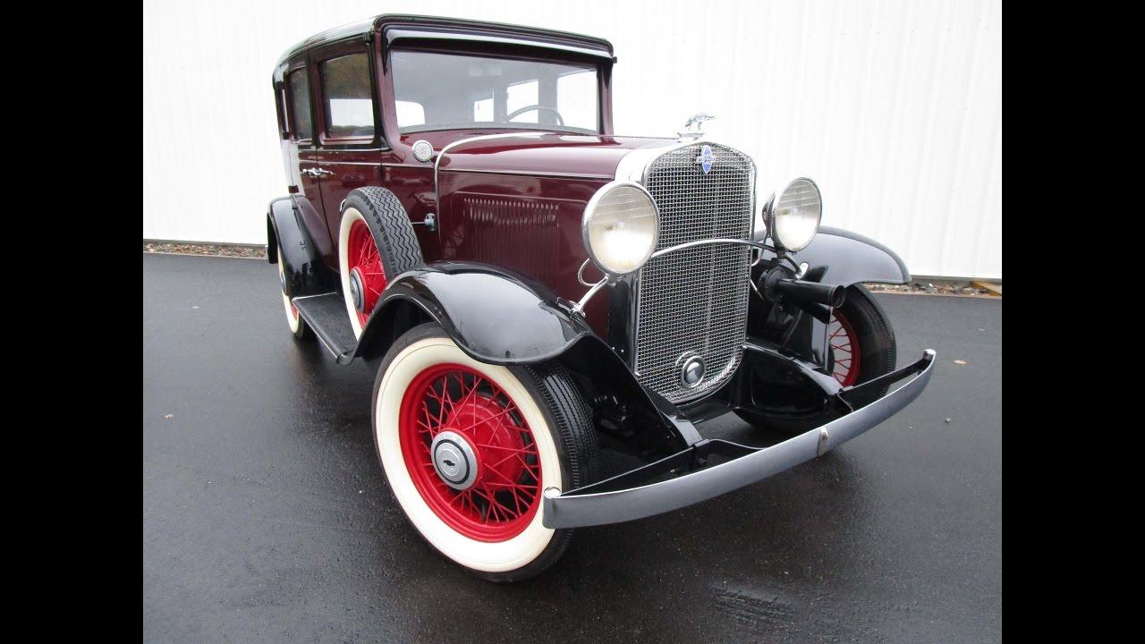 Sedan 1931 chevrolet sedan for sale : 1931 Chevrolet Independence Deluxe AE Sedan For Sale Trade ...