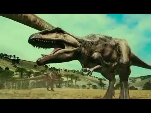 Mapusaurus vs Argentinosaurus - YouTube