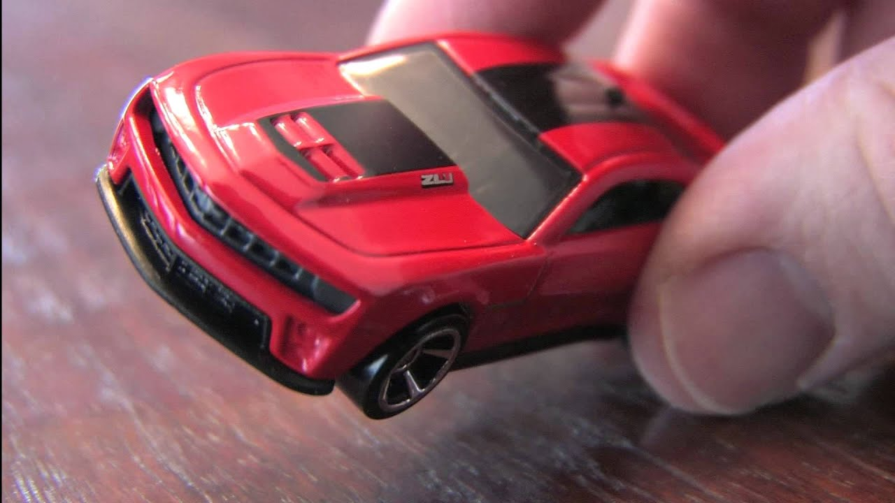 Cgr Garage 2012 Camaro Zl1 Hot Wheels Review Youtube