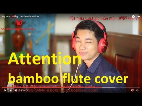 Attention - Charlie Puth | Flute cover | Master of Flute