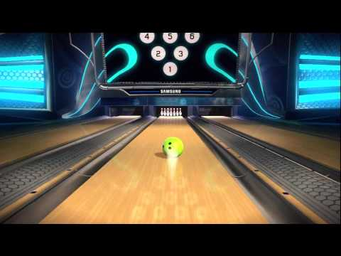 XBOX Kinect Bowling
