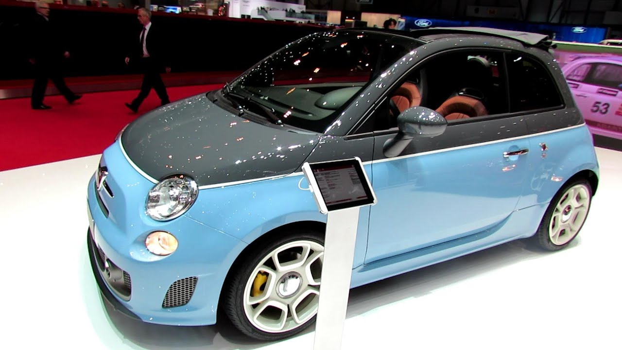 2014 fiat 500 c abarth 595 turismo exterior and interior. Black Bedroom Furniture Sets. Home Design Ideas