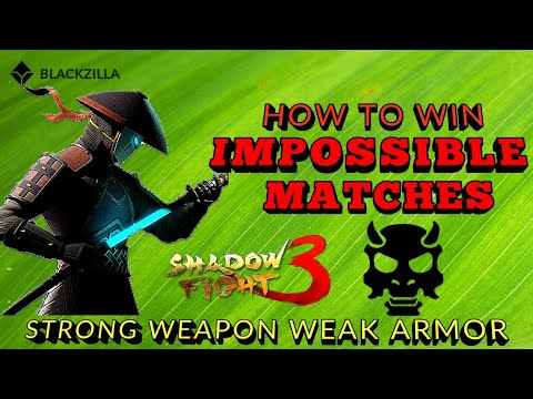 Shadow Fight 3 HOW TO WIN IMPOSSIBLE MATCHES