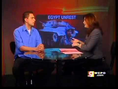 Interview with Hamilton Journal reporter from Egypt