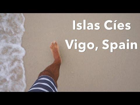 Islas Cíes in Vigo, Spain
