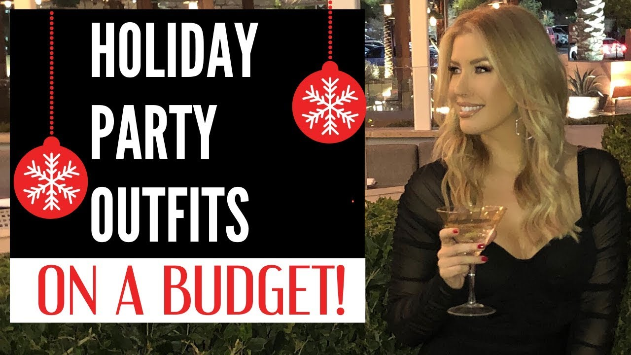 [VIDEO] - TURN HEADS THIS HOLIDAY SEASON! Affordable Holiday Outfit Ideas 2019 2