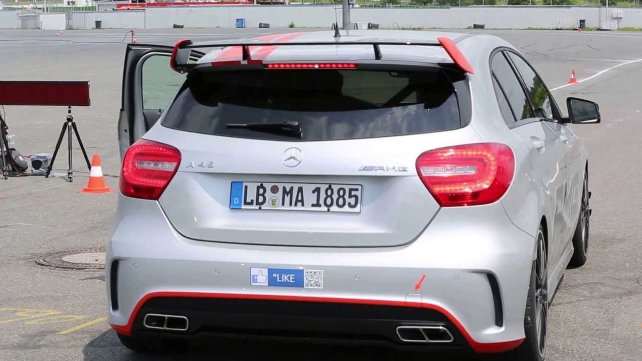 mercedes a45 amg 360bhp with performance exhaust frasers. Black Bedroom Furniture Sets. Home Design Ideas