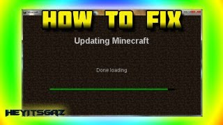 ► How to FIX the Updating Minecraft Done Loading Problem | NEW