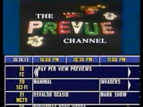 Prevue Channel On Paragon Cable With Christmas Cookies