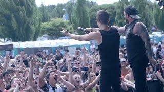 Dangerkids - Warped Tour 2014 Portland @ www.OfficialVideos.Net