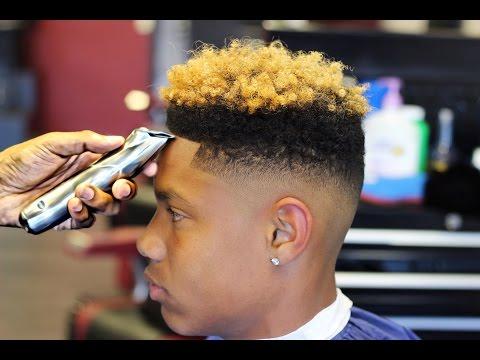 HAIRCUT: Steps on How to Cut a Curl Sponge Fade HD
