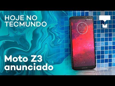 Moto Z3, PiP no WhatsApp, ataque a roteadores e mais - Hoje no TecMundo